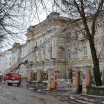 Детская областная больница, пострадавшая при сильном пожаре, продолжает работу в штатном режиме