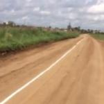 Новые технологии в Твери — разметку наносят на грунтовые дороги