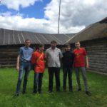 Дело партии живет: комсомольцы благоустроили территорию дома-музея М.И. Калинина