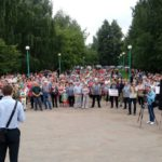 Сотни жителей Бежецка вышли на митинг против «культурного беспредела» в городе и районе
