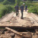 Жители деревни Зеленьково в Тверской области оказались отрезаны от остального мира
