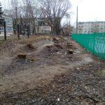 Жители Осташкова требуют у мэра города выйти с лопатой — чинить дорогу у детского сада