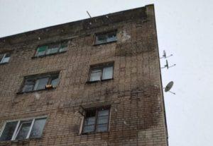 В Осташкове общежитие рискует сложиться на головы его жильцам