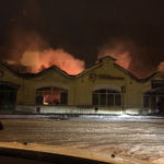 В Кимрах в огне пострадал памятник архитектуры XIX века