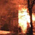 Пожар в Кимрах уничтожил очередной памятник архитектуры