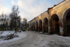 Жители Вышнего Волочка просят о спасение памятника культурного наследия Первые торговые ряды