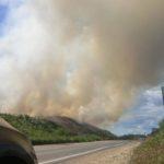 Удушающий дым с горящей свалки доводит жителей Кимр до больниц