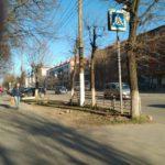 Новый пешеходный переход в Заволжье – смертельно опасен