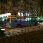 В Твери у троллейбуса на ходу отвалилось колесо