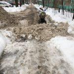 80% жителей Твери недовольны уборкой от снега своего двора
