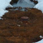 Под Лихославлем жители строят баррикады от сточных и фекальных вод