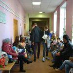 В регистратуре поликлиники №1 больницы №6 — гигантские очереди
