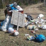 Жители Пено собрались везти неубранный городской мусор к дверям администрации