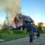 В Старице сгорел старинный дом, входивший в перечень объектов местного культурного наследия. Архзащитники подозревают, что это был поджог