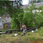 После рейда общественников и публикации на «Тверь24», Олег Дубов решил исправить прошлогодние недоделки на теплотрассе в Оленино
