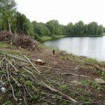 Западная Двина: скандально известный чиновник строит дачу в водоохранной зоне?