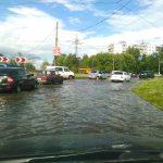 Июльский ливень затопил Тверь