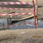 В Весьегонске велосипедистка угодила в провал с нечистотами