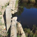 В Максатихинском районе обрушился мост