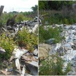 Новую несанкционированную свалку нашли под Кимрами. Мусором завалили земли сельхозназначения