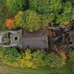 Верхневолжье  лишилось ещё одного исторического здания. В Селижаровском районе рухнул деревянный храм Николая Чудотворца