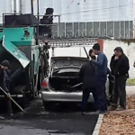 В Торжке воруют асфальт? Видео