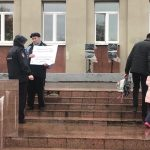 В Твери прошли новые пикеты с требованием отставки главы города Алексея Огонькова