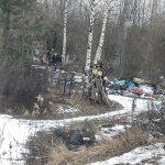 В Конаково вандалы разгромили кладбище. Жители подозревают, что за этим стоят ритуальные службы