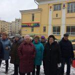 В Твери прошел народный сход в виде митинга за ремонт дороги на проспекте Победы. Не обошлось и без провокаций.