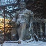 Председатель ветеранской организации ВМФ выступил с инициативой восстановления заброшенного памятника Ленину в Твери. Объявлен сбор средств