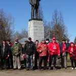 В условиях карантина, соблюдая меры предосторожности… Тверские коммунисты отметили 150-летие со дня рождения Ленина