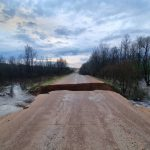 В Лихославльском и Спировском районах ливень смыл автодорогу