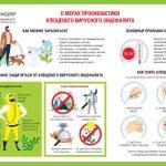 Опасайтесь клещевого вирусного энцефалита! Меры профилактики