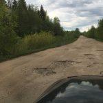 Как выглядят дороги в центре Тверского туризма? Несколько деревень в районе Осташкова могут оказаться отрезанными от мира из-за аварийной дороги