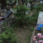 9 июня на кладбище в посёлке Редкино Конаковского района бесчинствовали вандалы. В преступлении подозреваются молодой мужчина и ребёнок