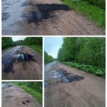 «Ноу-хау» по-торопецки: грунтовую дорогу подравняли асфальтом
