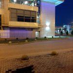 В Твери на Проспекте 50 лет Октября провалился тротуар