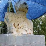 В Старицком районе рассыпается памятник императору Александру II. Может, это вандалы?