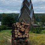 В Пеновском районе рядом с памятником архитектуры компания с офшорными корнями вырубила лес. Об этом рассказало столичное издание