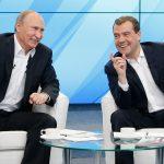 Своих не бросаем. Путин подарил Медведеву орден на день рождения