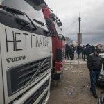 В Твери задержали дальнобойщиков, выступающих против системы «Платон»