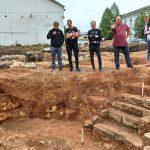 В Старице археологи обнаружили остатки крепости XV века