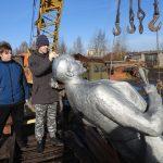 В Калязине под давлением общественности демонтированный памятник Ленину обрёл второе «место жительства»