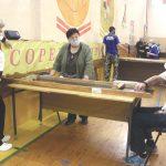 В городе Бологое прошли пятые межрайонные спортивные игры среди команд ВОИ на призы КПРФ