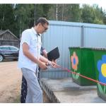 Жителей Оленинского округа  осчастливили мусорными площадками за миллион рублей