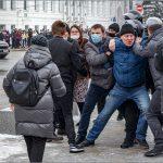 В Твери в несанкционированной акции в поддержку Навального приняли участие около 2 тысяч человек. Задержаны 29 протестующих