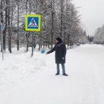 Из кювета в кювет. ОНФ зафиксировал нарушения в оборудовании пешеходных переходов в посёлке Мирный Оленинского муниципального округа