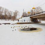 Раскрыта «тайна» проталины на Цнинском канале в Вышнем Волочке
