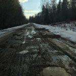 Злополучная дорога в Осташковском округе