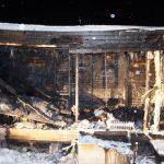 В Максатихе возле дома нашли обгоревший труп мужчины